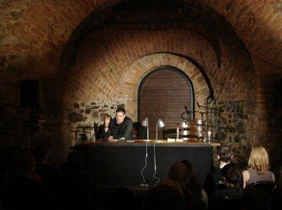 Bas Böttcher in der Moritzbastei bei der LLL