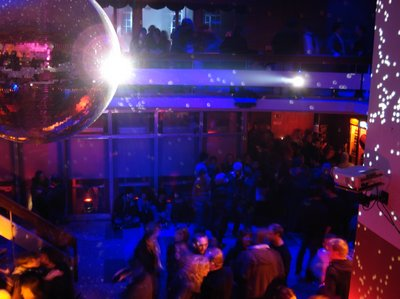 Party der Jungen Verlage in der Alten Hauptpost Leipzig 13.3.2009