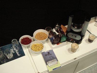 Snacks und Kaffee bei Voland & Quist