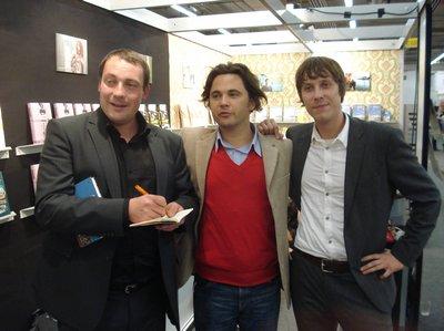 Leif Greinus, Roman Simic, Sebastian Wolter (v.l.)