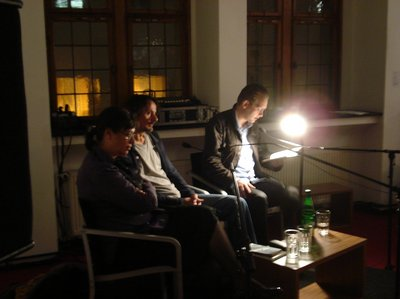 Lesung Alida Bremer, Edo Popovic + Clemens Meyer