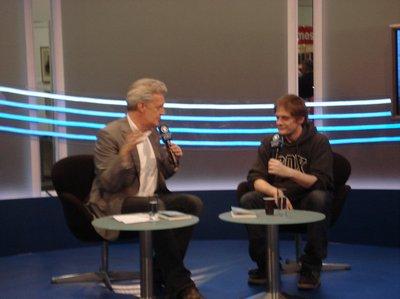 Dieter Moor im Gespräch mit Tube