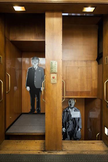 Ausstellung zu Alois Nebel im Stuttgarter Literaturhaus (Paternoster)
