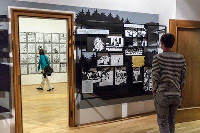 Ausstellung zu Alois Nebel im Stuttgarter Literaturhaus