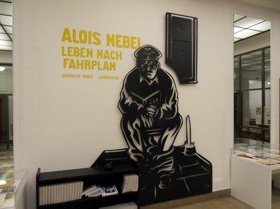 Ausstellung Alois Nebel