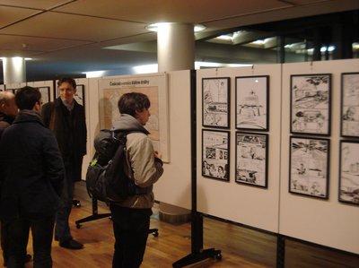 Ausstellung Alois Nebel - Leben nach Fahrplan in Leipzig