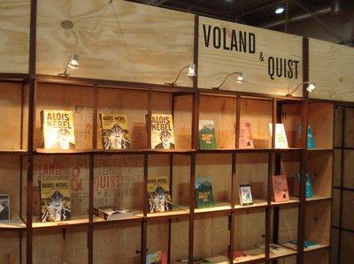 Messestand Voland & Quist