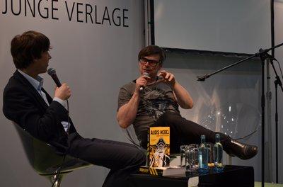 Sebastian Wolter und Jaroslav Rudis im Gespräch